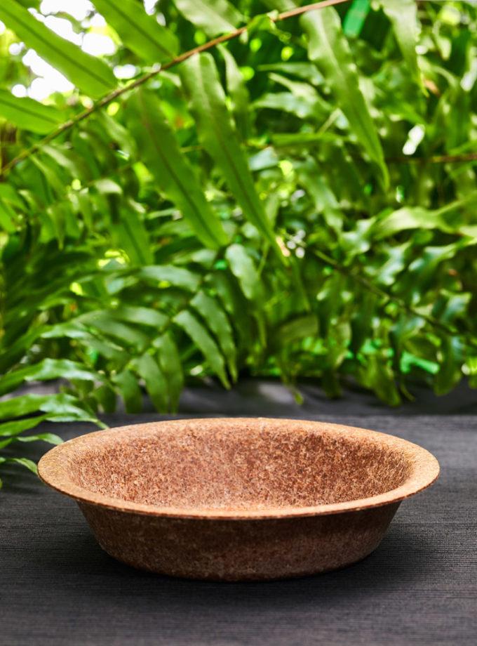 miska z otrębów pszennych