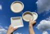 naczynia z trzciny cukrowej