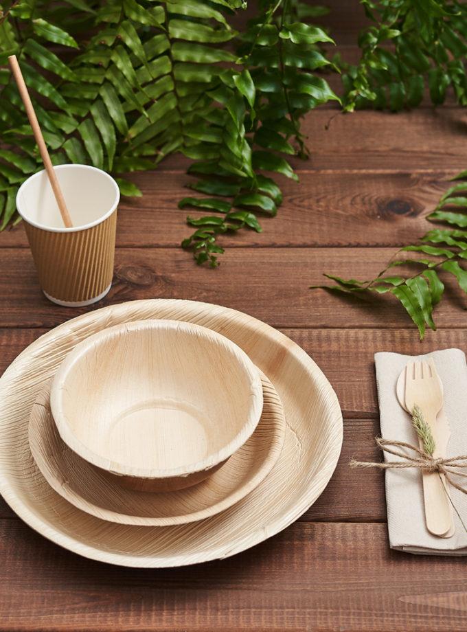 Naczynia z liści palmowych