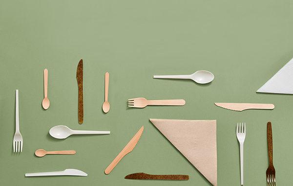 Biodegradowalne noże i widelce