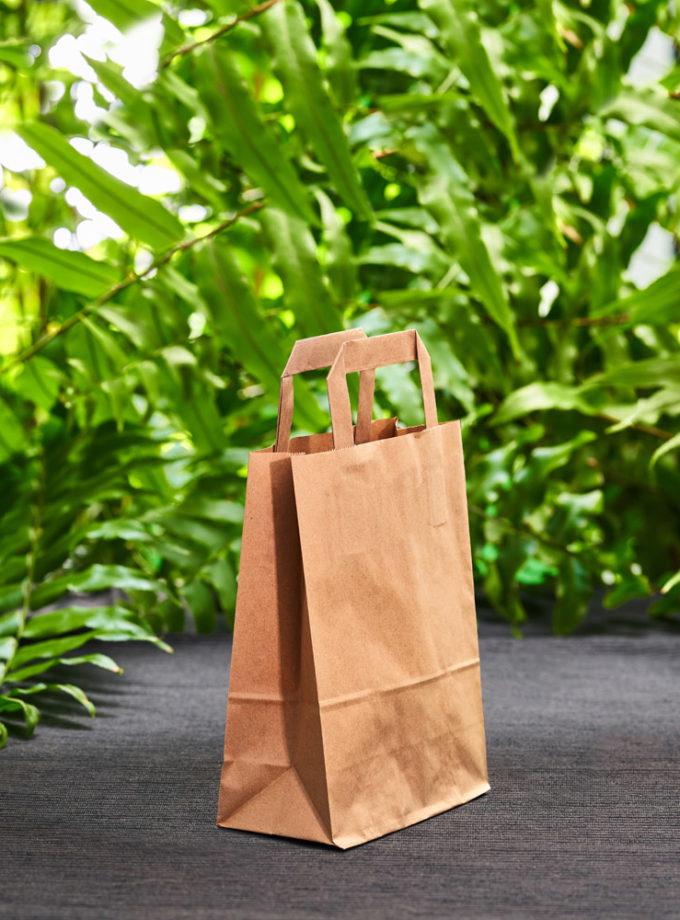 ekologiczna torba papierowa mała