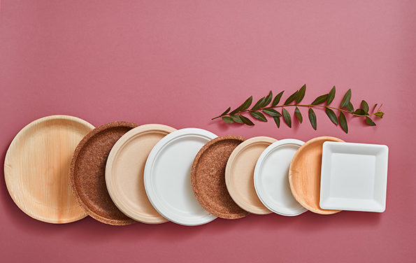jednorazowe talerze