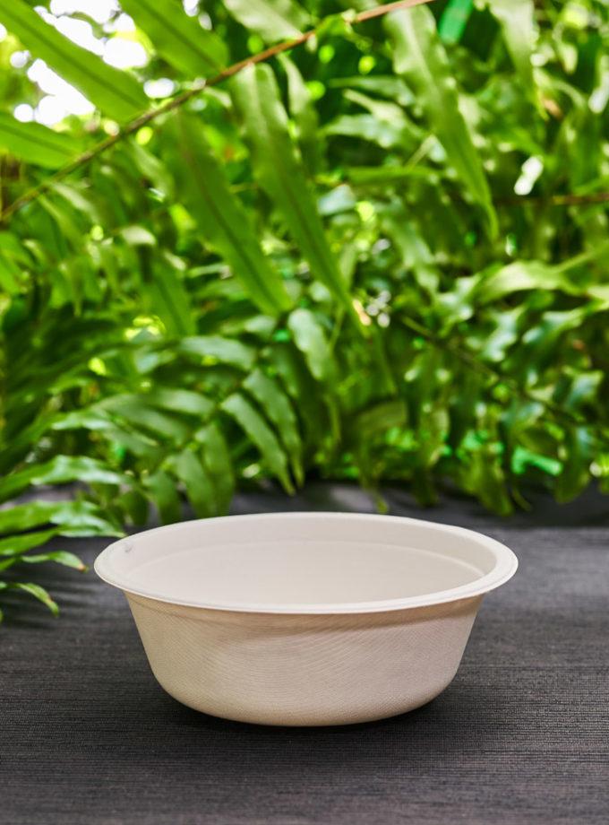 miska na zupę z bialej trzciny cukrowej