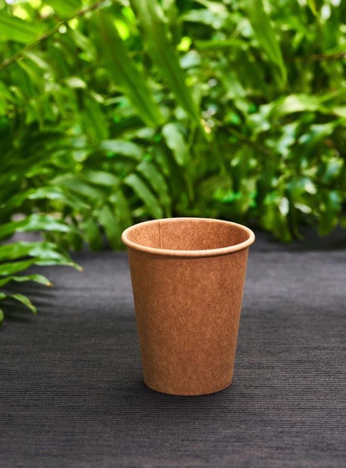 papierowy kubek brązowy eko