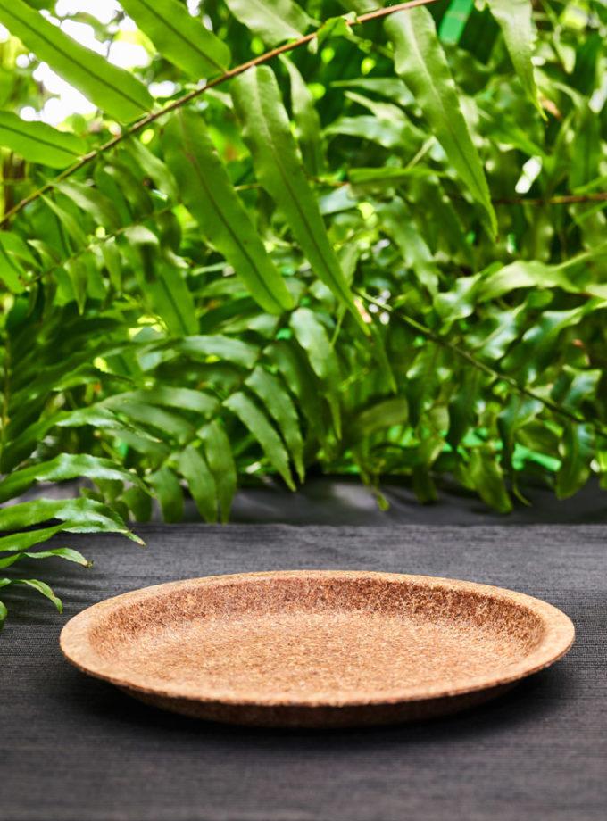talerz mały z otrębów pszennych