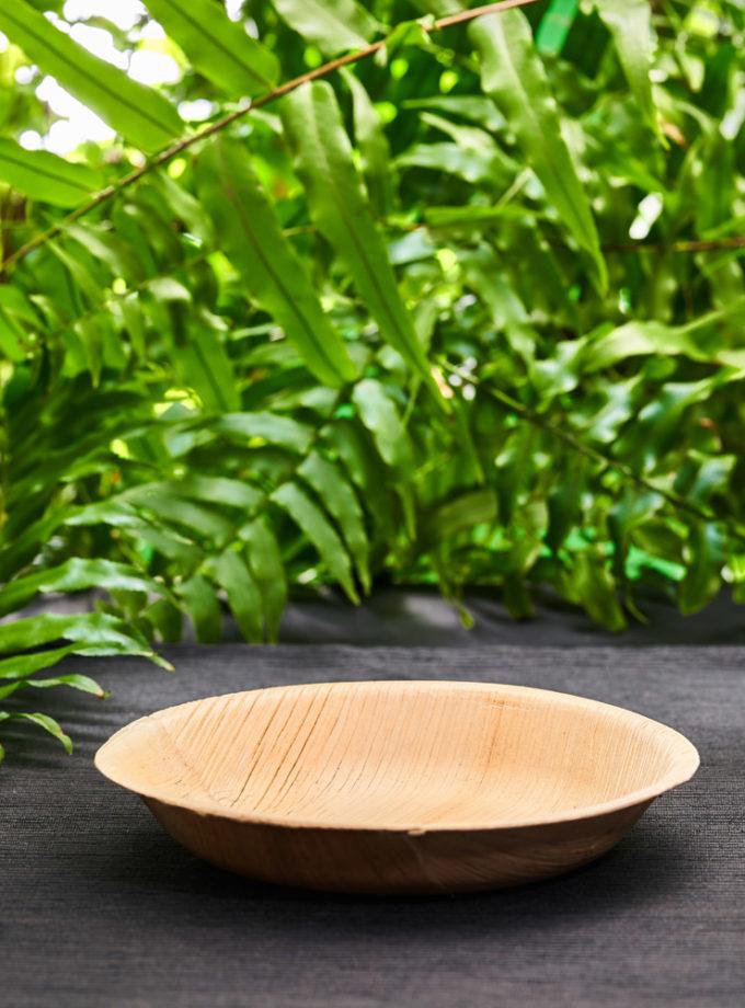 talerz z liści palmowych mały