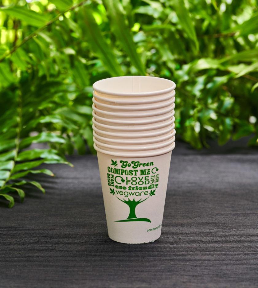zestaw kubków papierowych ekologicznych