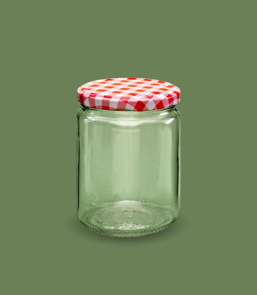 Słoik szklany z nakrętką 500 ml